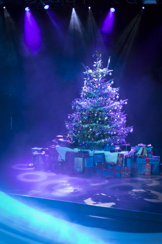 Fotoreportage einer Weihnachtsfeier