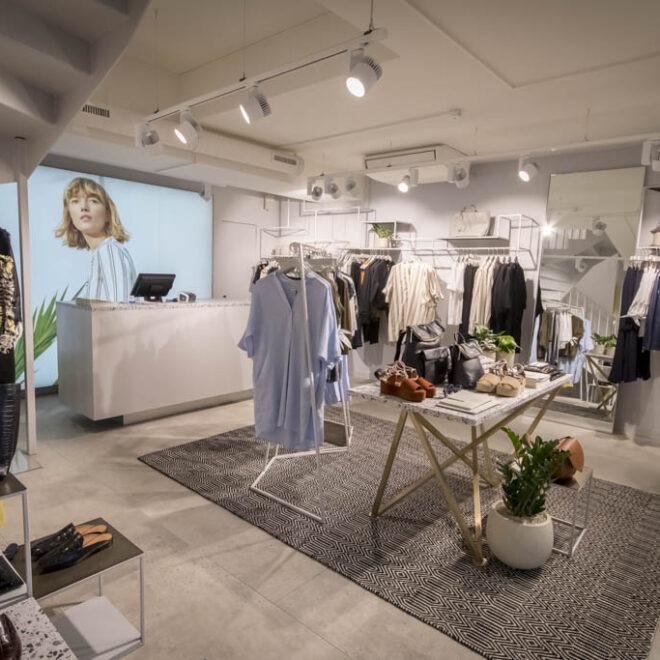 Fashion Store Whistles in Zuerich - Bilder bei der Eroeffnung