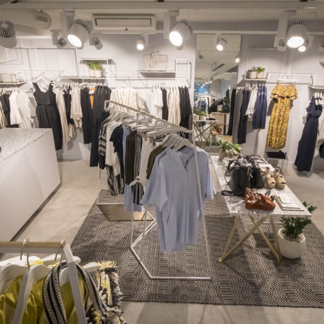 Fashion Store Whistles in Zuerich - Bilder für Social Media